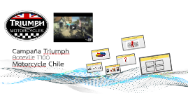 Campaña Triumph Motorcycle Chile