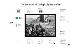 Copy of The Invasion of Ethiopia by Mussolini