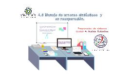 Copy of 4.6 Manejo de errores sintácticos  y su recuperación.