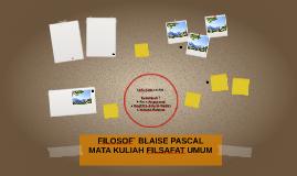 FILOSOF` BLAISE PASCAL