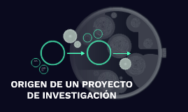 ORIGEN DE UN PROYECTO DE INVESTIGACIÓN