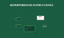 REPERTORIOS DE INTRUCCIONES