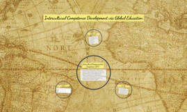 Intercultural Competence Development via Global Education