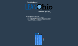 The Mission of LeanOhio (with audio)