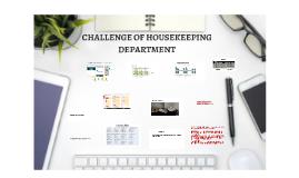 CHALLENGE OF HOUSEKEEPING