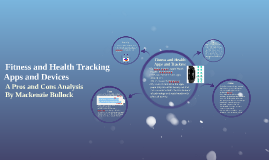 Fitness and Health Tracking
