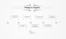 Pledge in English
