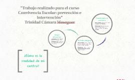 """""""Trabajo realizado para el curso Convivencia Escolar: preven"""