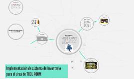 Copy of Proyecto Inventario TOOL ROOM