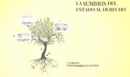 Copy of LA SUMISION DEL ESTADO AL DERECHO