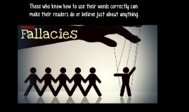 Rhetorical Fallacies