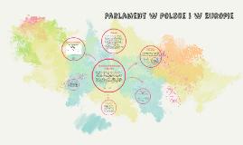 Parlament w Polsce i w Europie