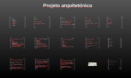 Projeto arquitetónico