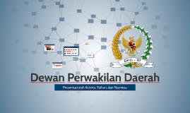 Dewan Perwakilan Daerah