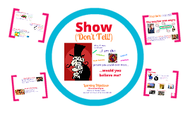 KS2 Literacy - Show, Don't Tell