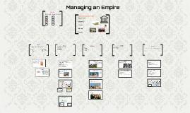 Managing an Empire