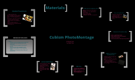 Lesson Plan: Cubism Photo Montage