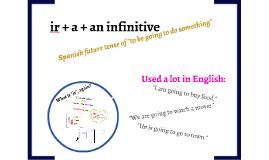 ir + a + an infinitive