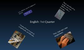 English: Quarter 1