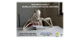 Copy of Argumentación y modelos explicativos en Anatomía