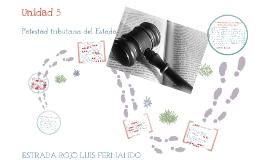 Copy of Unidad 5. Potestad Tributaria del Estado