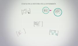 Copy of ETAPAS DE LA HISTORIA DE LA ENFERMERÍA