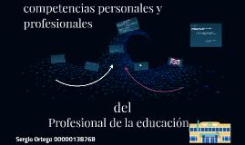 competencias personales y profesionales