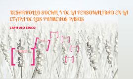 Copy of DESARROLLO SOCIAL Y DE LA PERSONALIDAD EN LA ETAPA DE LOS PRIMEROS PASOS