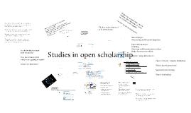 Open scholarship redux
