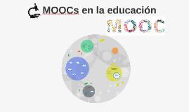 MOOCs en la educación