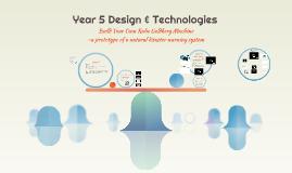Year 5 Design & Technologies