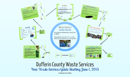 Copy of Dufferin County Waste Services: New Waste Services Guide