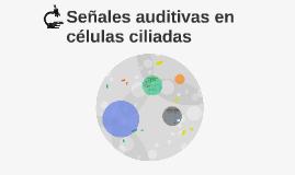 señales auditivas se transmiten por celulas ciliadas interna