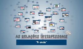 As relações interpessoais