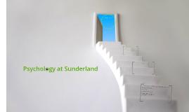 Psychology at Sunderland