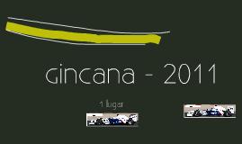 Gincana - 2011