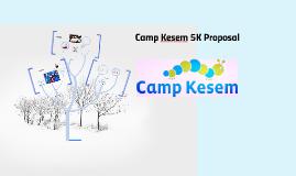 Camp Kesem 5K Proposal