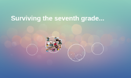 Surviving the seventh grade...