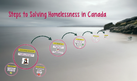 Steps to Solving Homelessness in Canada