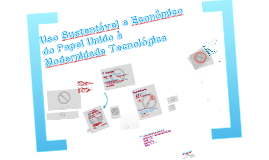 Economia de Papel - Mostra de Projetos 2012