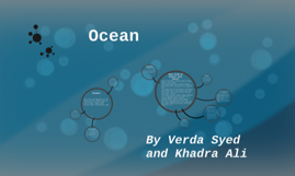 oceans by Verda Syed and Khadra Ali