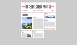 MUSEUM EXHIBIT PROJECT