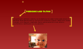 piercing and tatoo