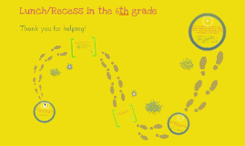Lunch /Recess procedures