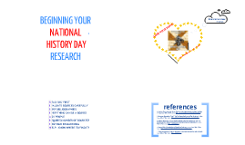 Beginning Your National History Day Research!