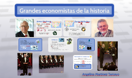 Grandes economistas de la historia