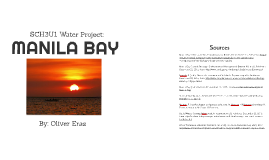 Manila Bay - SCH3U1 Water Project