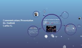 Communications Presentation