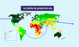 Copy of La chaîne de production de...