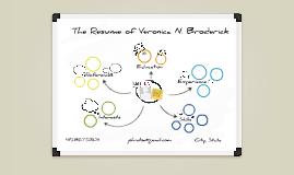 White Board Prezumé by Veronica Broderick